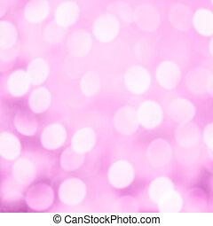 Defocused Bokeh glitter lights - Merry Christmas and Happy...