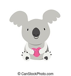 KOALA Australian marsupial bear Vector Illustration