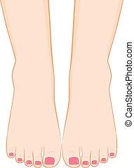 Pedicure Feet