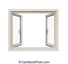 Window Frame Isolated