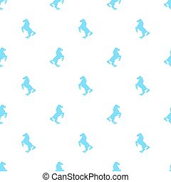 Horse 5 (Patern).eps - Vector seamless pattern with active...