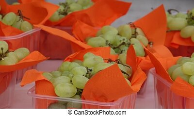 tasty grape at grocery
