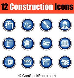 Construction icon set.