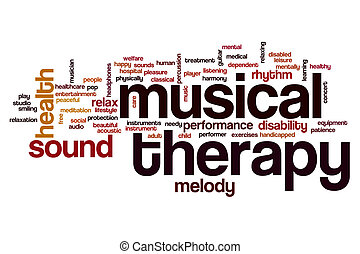 therapy word cloud clip musical clipart gene concept illustration illustrations healing canstockphoto