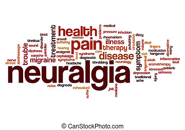 Neuralgia word cloud