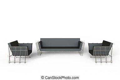 Modern living room furniture set