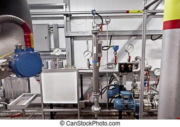 liquid density transducer - Pipe line indoor and liquid...