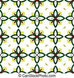 ornamental flower pattern