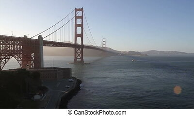 Time Lapse Golden Gate Bridge - Time Lapse of Whales under...