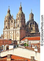 Iglesia de la Clerecia in Salamanca, Castilla y Leon region,...