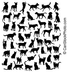 Dog and Pet Silhouettes