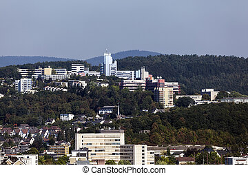 uniwersytet, Od, Siegen, Niemcy
