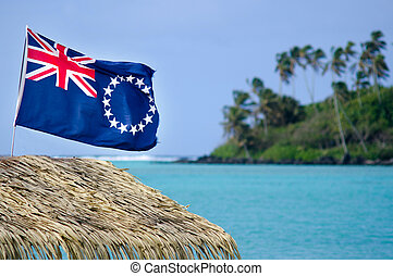 Flag of the Cook Islands - Cook Islands Ensign - The flag of...
