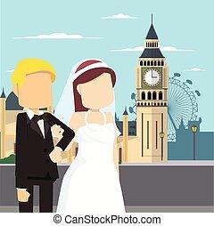 married couple tour big ben london