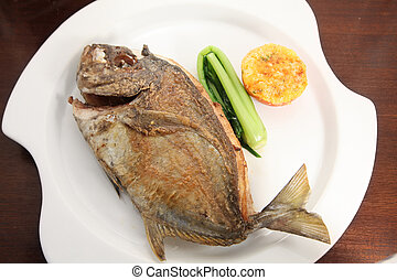 pan fried fish food