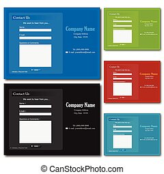 contact web forms