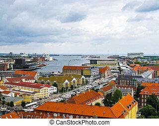 HDR Copenhagen Denmark - High dynamic range (HDR) View of...