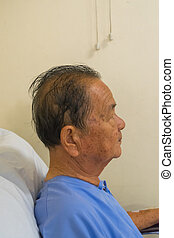 Patient waiting a doctor in hospital - Bangkok, Thailand -...