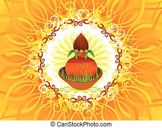abstract navratra background vector illustration