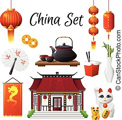 China Culture Traditions Symbols Collection