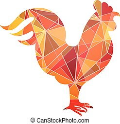 Chinese New Year 2017 Rooster horoscope symbol - Rooster...