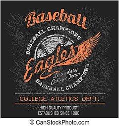 Vintage baseball logo, emblem, badge and design elements...