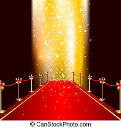 red carpet, this illustration may be useful as designer work