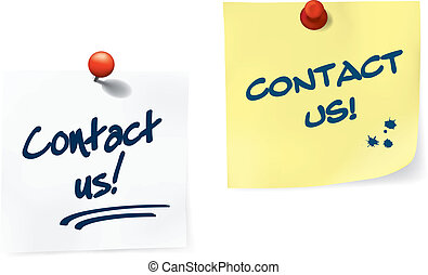 Contact Us Notes Set