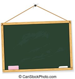 Vector blackboard. Highly detailed. Easy to edit. Education...