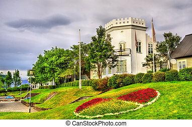 edificio,  gimli, histórico,  Reykjavik, casa