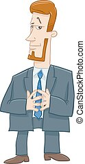 boss character cartoon illustration - Cartoon Illustration...