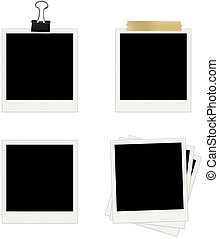 Photo Frames Collection Easy To Edit Vector Image