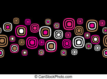 Seamless Retro Abstract Vector Background