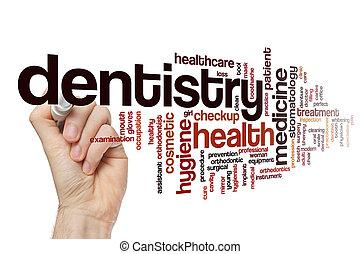 Dentistry word cloud