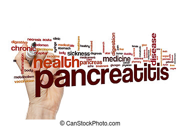 Pancreatitis word cloud concept - Pancreatitis word cloud