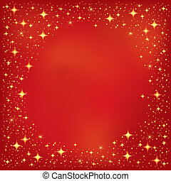 Red Star Background. Star Background Series.