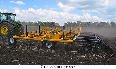 Equipment for handling of the soil Harrow Disk