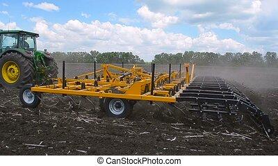 Equipment for handling of the soil. Harrow Disk.