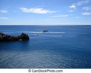 rocha, promontório, de, Portovenere, B