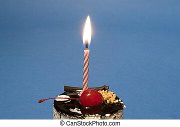 蛋糕, 蠟燭