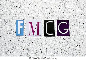 FMCG (Fast Moving Consumer Goods) acronym