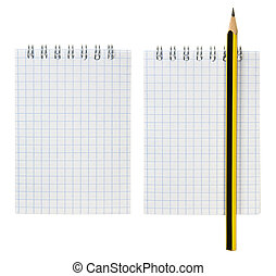 Notepad and Pencil Set