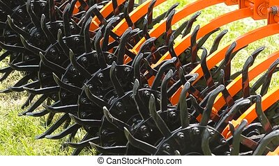 Equipment for handling of the soil Harrow Mattock Rotational...