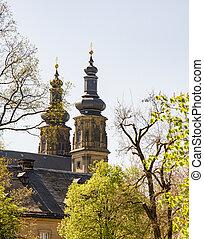 Benedictine Monatery Banz Abbey - The Benedictine Monatery...