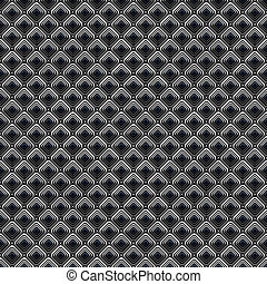 Seamless diagonal checked pattern. Cells texture.