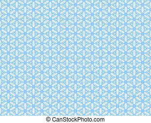 Seamless blue hexagons pattern. Geometric texture.