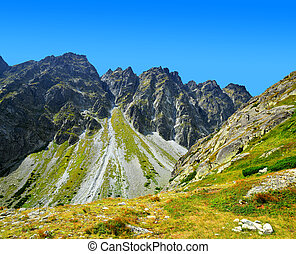 Mountain Satan. Mengusovska Valley in Vysoke Tatry (High...