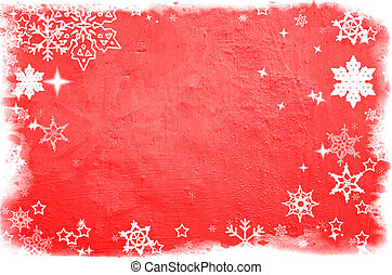 Christmas Texture. Ready for your message.