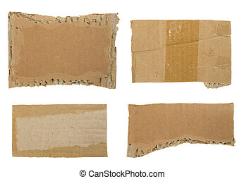 Cardboard Collection. Ready for your message.