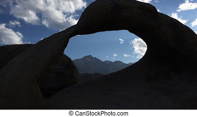 Mobius Arch at Sunset Alabama Hills - Mobius Arch Alabama...